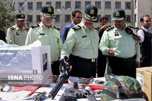 کشفیات بیست و ششمین طرح رعد نیروی انتظامی