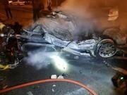 تصاویر   تصادف مرگبار پژو ۴۰۵ با پرشیا در اتوبان تهران-قم
