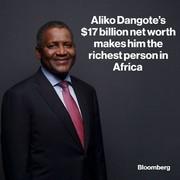 ثروتمندترین فرد آفریقا چقدر ثروت دارد؟