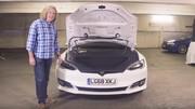 فیلم | بررسی خودروی تسلا مدل S P100D از دیدگاه جیمز می، مجری محبوب تخته گاز