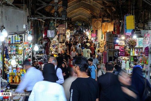 جمعیت در بازار