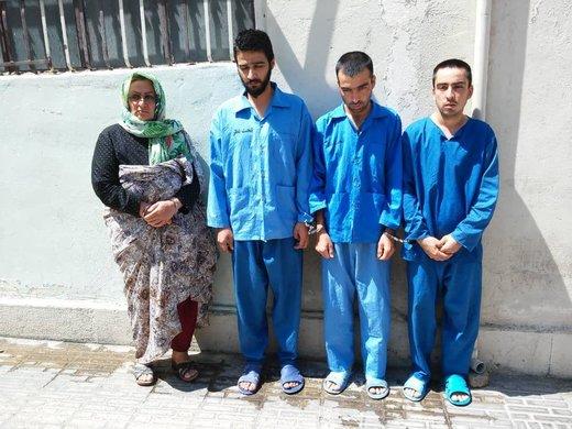 دستگیری خانوادهای که با خشونت سرقت میکردند