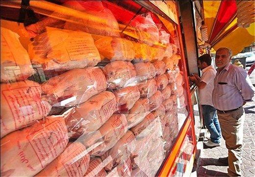 قیمت مرغ از ۱۲.۰۰۰ تومان بالا رفت