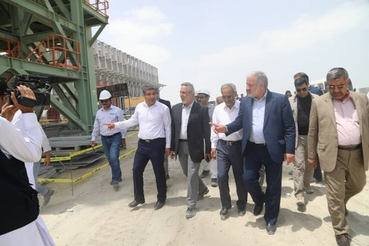 ميناء جابهار يحظى باهمية استراتيجية للتنمية الاقتصادية في البلاد