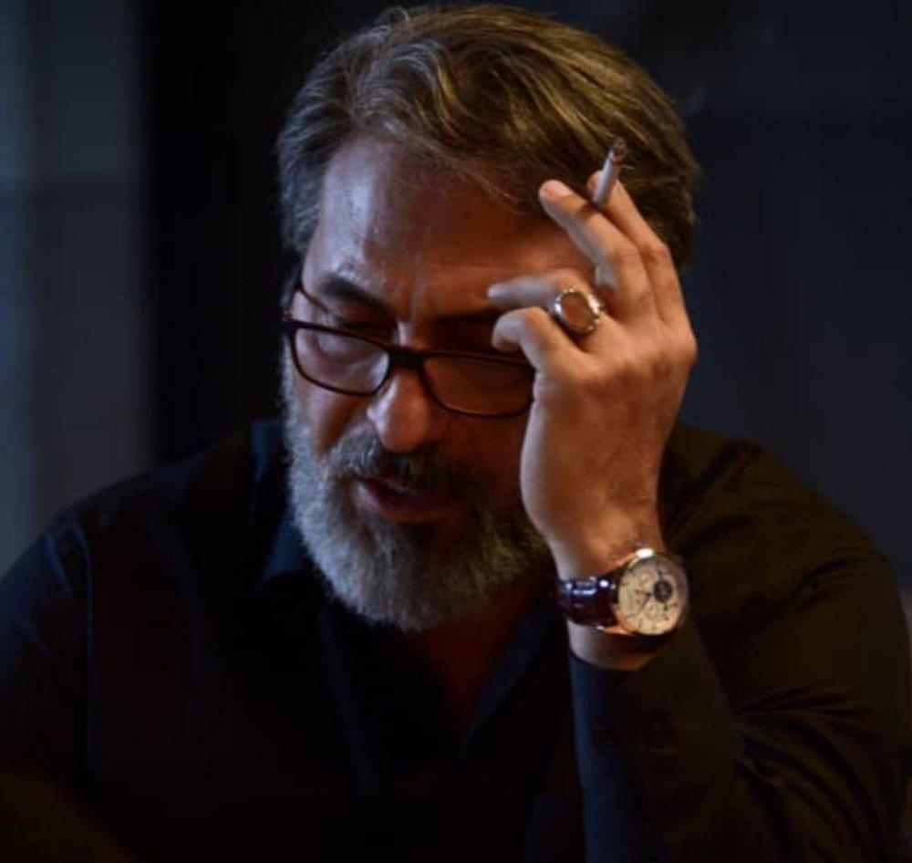 عکس   حمید فرخنژاد با ظاهری تازه در یک فیلم