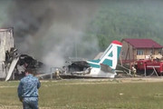 ببینید | نخستین تصاویر از سقوط هواپیمای اوکراینی با ۱۸۰ مسافر در حوالی فرودگاه امام