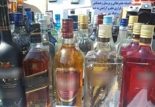 یک سوپرمارکت در نازیآباد تهران مشروب الکلی خارجی میفروخت/ تصاویر