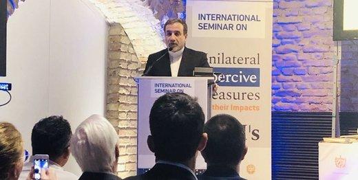 عراقچی خواستار پایان اقدامات خصمانه آمریکا علیه ایران شد