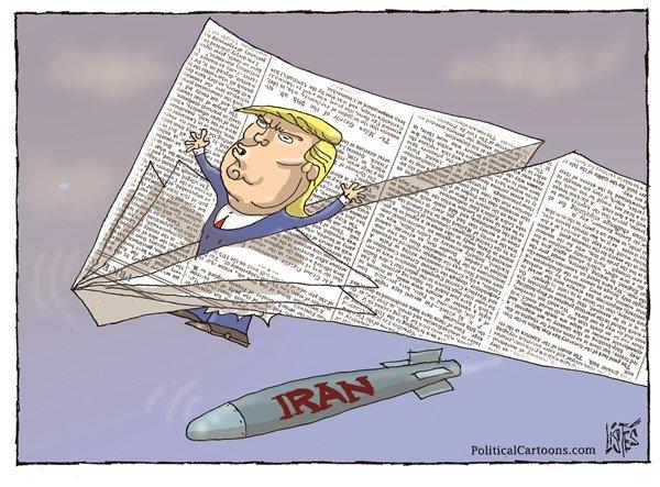 تفاوت توان موشکی ایران و آمریکا رو ببینید!