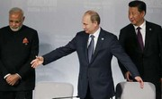 رهبران چین، روسیه و هند در حاشیه جی۲۰ دیدار کردند
