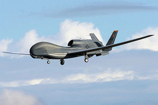 پهپاد جاسوسی آمریکا در عراق سقوط کرد/ عکس
