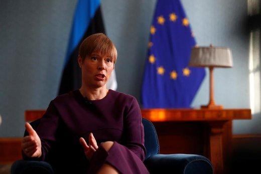 کرستی کالیولاید، رئیسجمهور استونی
