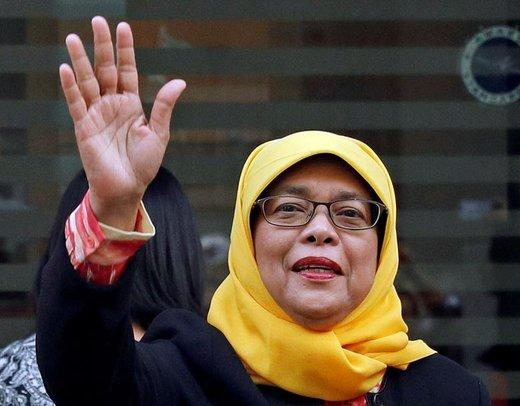 حلیمه یعقوب، رئیسجمهور سنگاپور