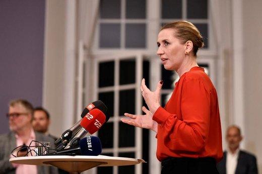 مته فردریکسن، نخستوزیر دانمارک