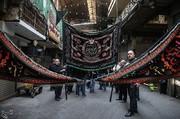 تصاویر | عزاداری شهادت امام صادق(ع) در بازار تهران