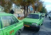 اعمال محدودیت تاکسیرانی برای شهروندان/ عکس