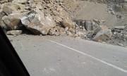 ریزش سنگ در جاده هراز/ یک نفر فوت کرد