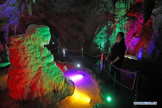 غار Tieling Karst چین