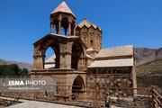 تصاویر | کلیسایی دیدنی در دل کوههای مرزی ایران و آذربایجان