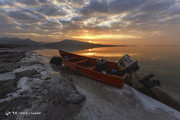 کاهش ۴۲ درصدی بارندگی، ۳ سانت تراز دریاچه ارومیه را کاهش داد