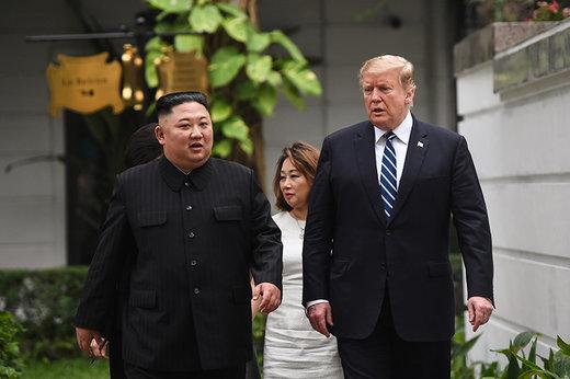 فیلم | ترامپ در خاک کره شمالی با کیم جونگ اون دیدار کرد