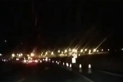 فیلم | ظاهر جدید جاده شیراز-خرامه پس از کشتهشدن یک دختر جوان