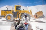 تصاویر | کار در معدنی به زیبایی و درخشانی «مرمر»