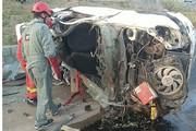 تصاویر | تصادف مرگبار تیبا با پژو ۲۰۶