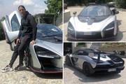 عکس | کریس رونالدو کنار ماشین یک میلیون یورویی جدیدش