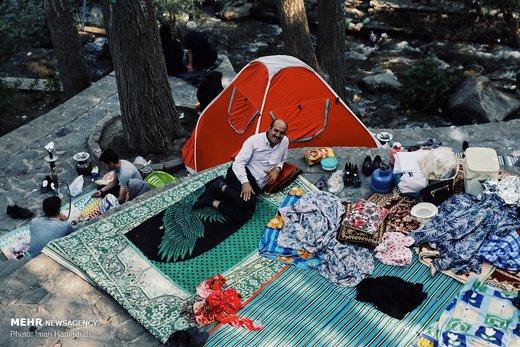 مقصد خنک مسافران تابستانی همدان