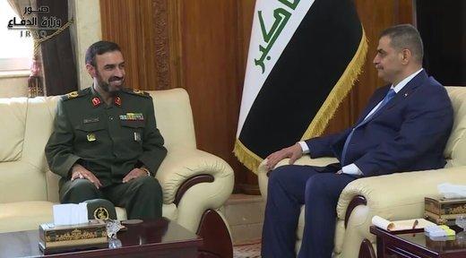 وزير الدفاع العراقي الجديد يؤكد على ضرورة تعزيز العلاقات مع ايران