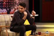 فیلم | علی ضیا روی آنتن زنده ادای احمدینژاد را درآورد!
