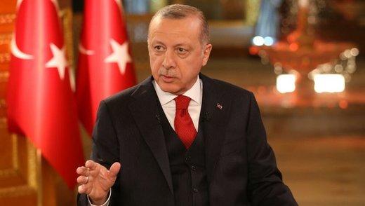 توضیح اردوغان درباره موضع ترکیه در قبال معامله قرن