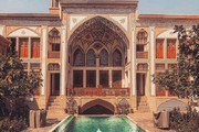 عکس | شکوه معماری ایرانی در خانه راهب کاشانی
