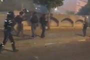 فیلم | درگیری پلیسهای صهیونیست با معترضان آفریقاییتبار فلسطین