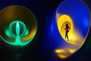 تصاویر | قدم زدن در تونلی که رویایی است