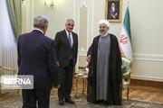 تصاویر | دیدار رئیسجمهور با گریگوریان