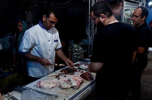 جشنواره کباب گرجی محله بهشهر