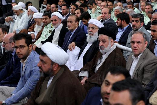 دیدار کارگزاران حج با رهبر معظم انقلاب اسلامی