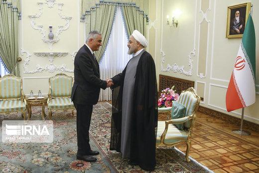 دیدار معاون نخستوزیر ارمنستان با رئیسجمهور