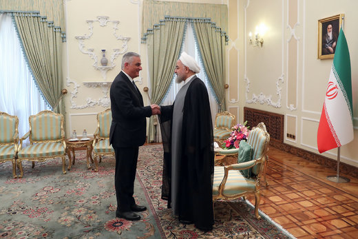 Tehran's serious intention to develop, deepen ties with Yerevan: Pres. Rouhani