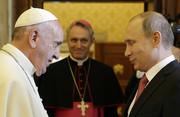 فیلم   ملاقات پوتین با پاپ فرانسیس