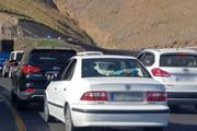 جاده چالوس پر ترافیک است