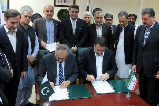 Iran, Pakistan sign MoU to promote bilateral trade