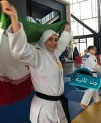 اولین طلای جهانی تاریخ جودوی بانوان ایران بر گردن بانوی خرمآبادی