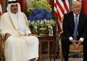 ایران، محور دیدار ترامپ و امیر قطر