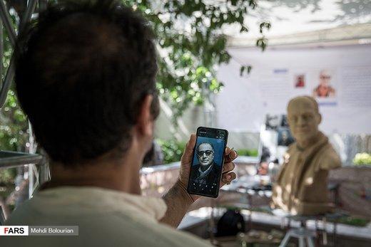 دومین سمپوزیوم مجسمهسازی مفاخر ایران