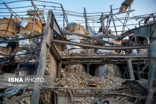 انفجار و آتشسوزی در شهرک شکوهیه قم