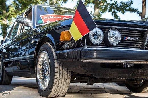 همایش خودروهای کلاسیک در سنندج