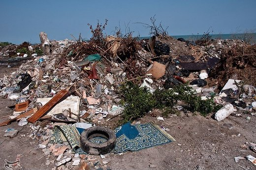 اردبیلیها روزانه ۹۸۰ تن زباله تولید میکنند